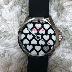 NWOT Juicy Black Heart Watch 🖤